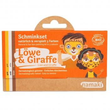 Bio Kinderschminke Löwe & Giraffe 3 Farben