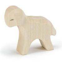 Lamm stehend für Spielwelt Holzfigur 6 cm hoch