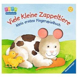 Fingerspielbuch ab 12 Monate - Viele kleine Zappeltiere