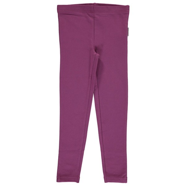Bio Kinderleggings helles lila