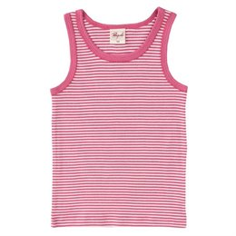 Unterhemd Mädchen Bio rosa gestreift