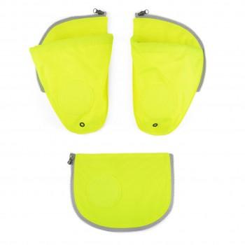 Seitentaschen für ergobag Schulranzen gelb