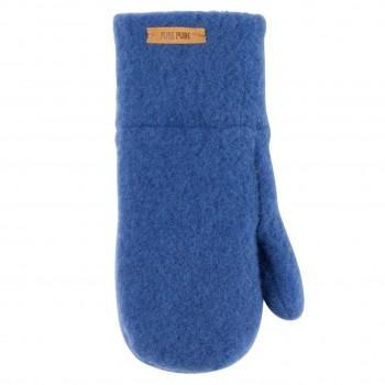 Blaue Kinder Handschuhe Wolle