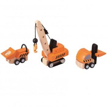 Spielzeugautos Baustellenfahrzeuge Kran & Co.