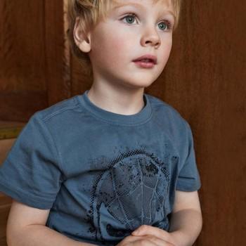 Spiderman Shirt kurzarm dunkelblau