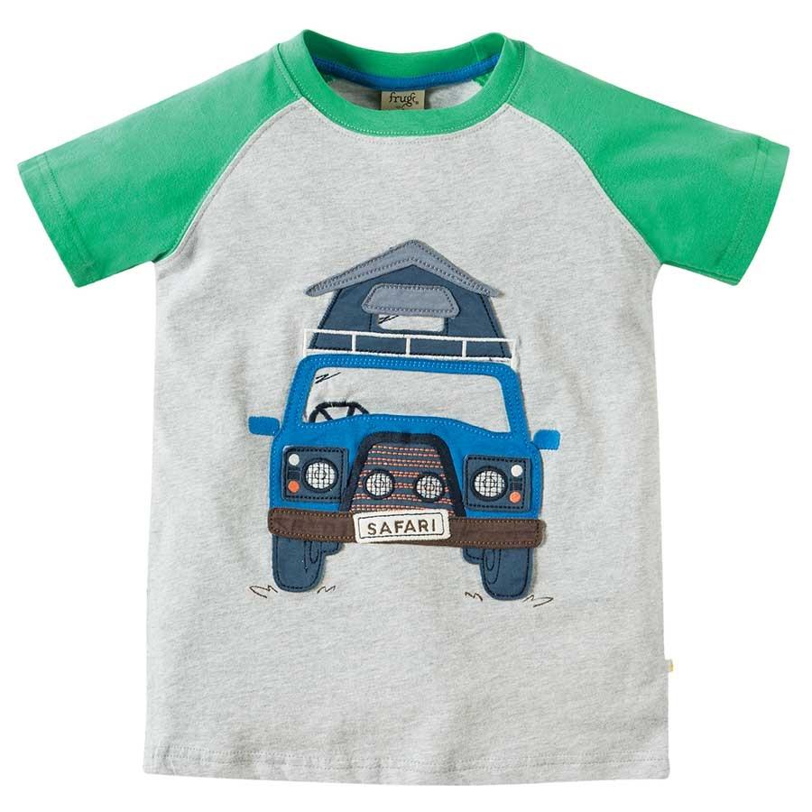 25cb36ae7ae2 ... Vorschau  Leichtes Jungen T-Shirt - Safari Bus ...