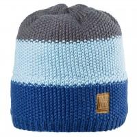 Wintermütze- und Übergangszeit gestrickt blau