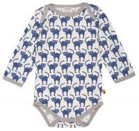 Body für kleine und große Schmusekatzen - pastellblau