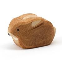 Hase klein Holzfigur 2,5 cm hoch