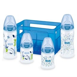 First Choice- Boy Starter Set, 4 Fl. + 4 Ventilsauger