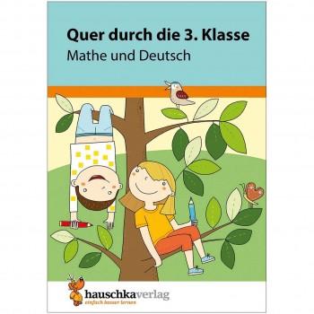 Quer durch die 3. Klasse Mathe & Deutsch Übungsblock