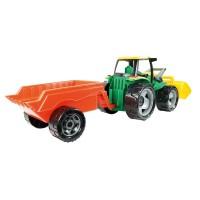 Vorschau: Großer Traktor mit Schaufel & Anhänger