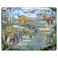 Kinder Puzzle ab 3 Jahren Dinosaurier Motiv