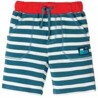 Robuste Jungen Shorts Streifen blau