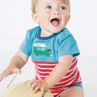 Vorschau: Baby Body mit Automotiv - kurzarm