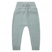 Baby Strickleggings in grau