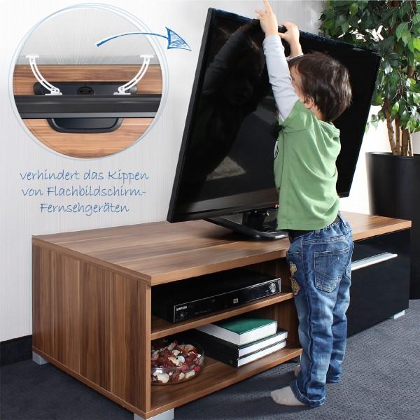 TV Kippsicherung für Flachbild Fernseher
