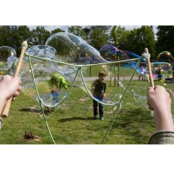 Riesen Seifenblasen mit Stange Seil und Konzentrat 5 Liter
