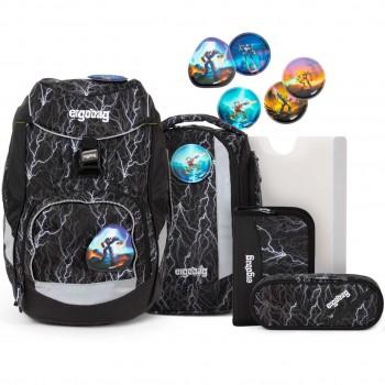 Glow Schulrucksack pack flexibel Super ReflektBär 6 tlg
