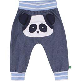 Panda Krabbelhose Jeansoptik weich