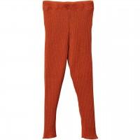 Woll Leggings orange warm und mitwachsend