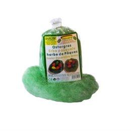 ÖkoNorm Ostergras Wolle pflanzlich gefärbt