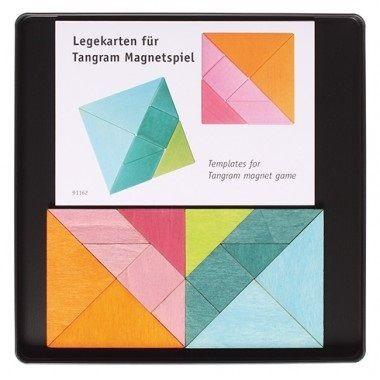 Magnetspiel 2 Tangram + Vorlagen Grimms