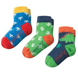 Kinder Bio Frugi Socken Dino