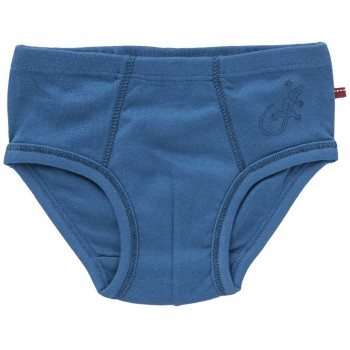 Jungenslip Gecko blau