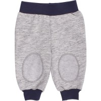 Warme Babyhose Sweat grau