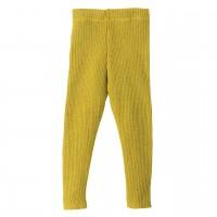 Woll Leggings curry-gelb warm und mitwachsend
