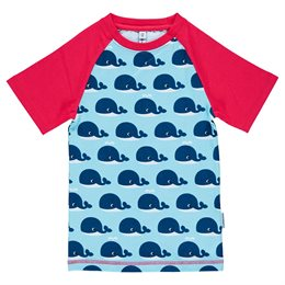 Slim Fit T-Shirt schmaler Schnitt Wale