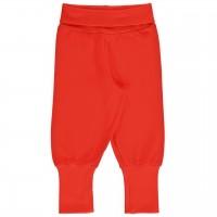 Leichte, robuste Babyhose rot mit Softbund