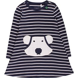 Eisbär langarm Kleid