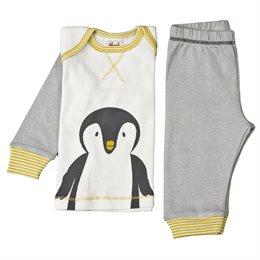 Babyoutfit Tag und Nacht Pinguin