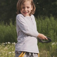 Kleiner super weicher Wurfring LOOP Frisbee flipper