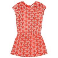 Leichtes Jerseykleid rot - elastischer Bund