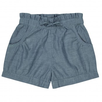 Elegante Mädchen Shorts in hellblau
