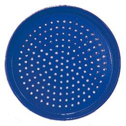 Metall Sandsieb blau 17 cm