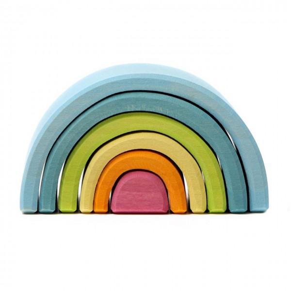 Kleinster Regenbogen Länge 10,5 cm pastell