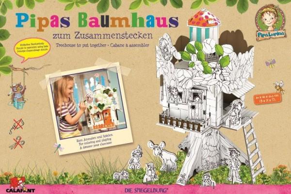 Pipas Baumhaus zum Stecken, malen & spielen
