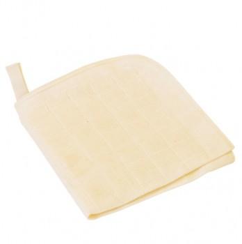 Mullwaschlappen, 3er Pack 25x25 cm 100% Baumwolle aus kbA (k
