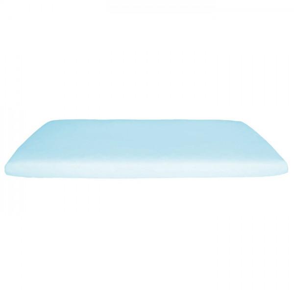 Bio Matratzenbezug für Kinder - 70x140 cm - blau