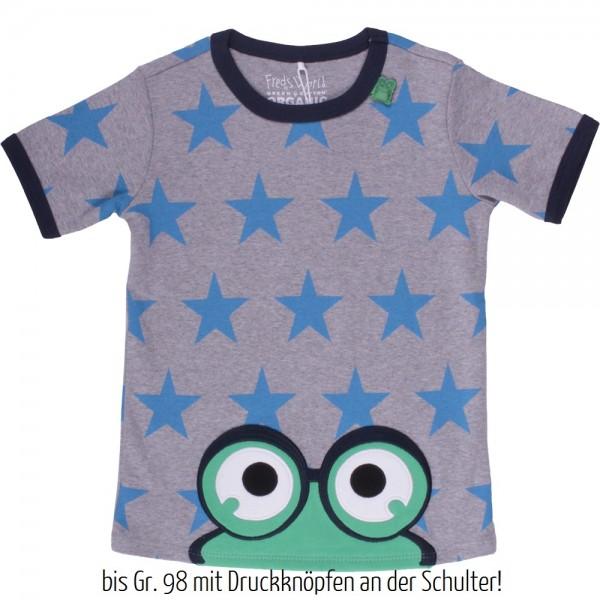 """T-Shirt """"Guck' mal"""" mit Sternen"""