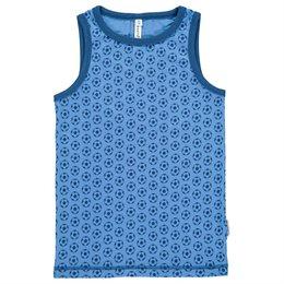 Softes Fussball Unterhemd blau