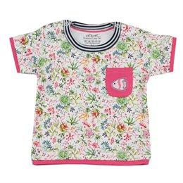 Robustes T-Shirt Mädchen Lagenlook