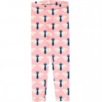 Jersey Leggings Libellen in rosa