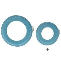 Vorschau: Kleiner super weicher Wurfring LOOP Frisbee blau