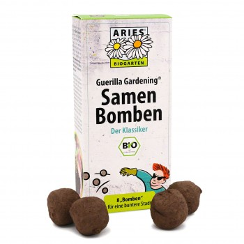 Samenbomben Set 8 Stück – Klassiker