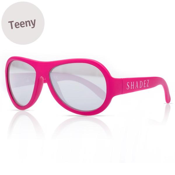 7-16 Jahre flexible Sonnenbrille Teeny uni rosa polarisiert
